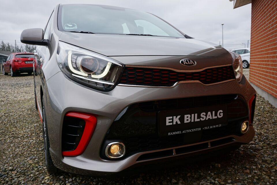 Kia Picanto 1,0 MPi GT-Line Benzin modelår 2018 km 11000