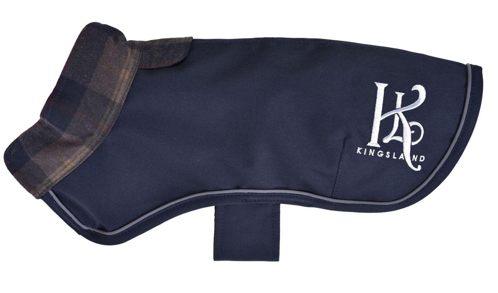 Kingsland Mantella Benson Coperta per cani con strisce riflettore