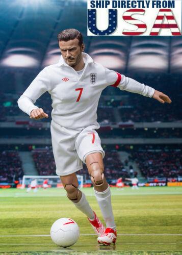 1//6 Scale David Beckham FIFA World Cup Soccer Player Figure Premium Set U.S.A.