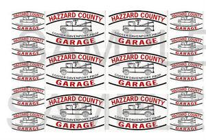 Hazard County Garage Autocollants Cooter's Dépanneuse 1:32, 1:24, 1:18 0r échelle 1:10-afficher Le Titre D'origine Grandes VariéTéS
