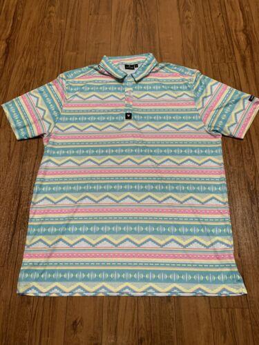 Bad Birdie Men's Golf Polo Shirt Size XL - Hard To