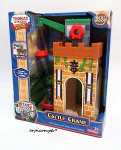 Details About King Of The Railway Castle Crane Set Brio Elc Wooden Thomas And Friends Trains