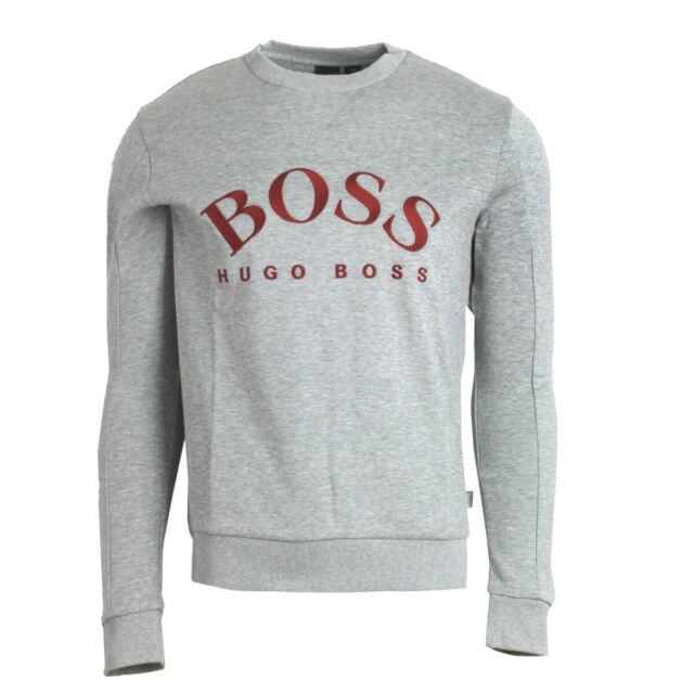 Hugo Boss Mens Salbo Long Sleeve Crewneck Sweatshirt Pullover Sweater