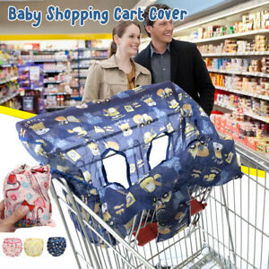 Baby High Chair Seat Cart Cover Cushion Supermarket Shopping Trolley  -)