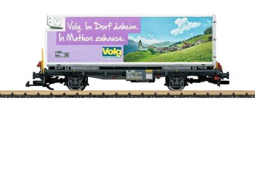 Epoche VI LGB L46895 Containerwagen Volg der RhB Spur G