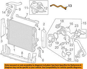 JAGUAR OEM 06-09 XJ8 4.2L-V8 Radiator-Drain Hose C2C24569