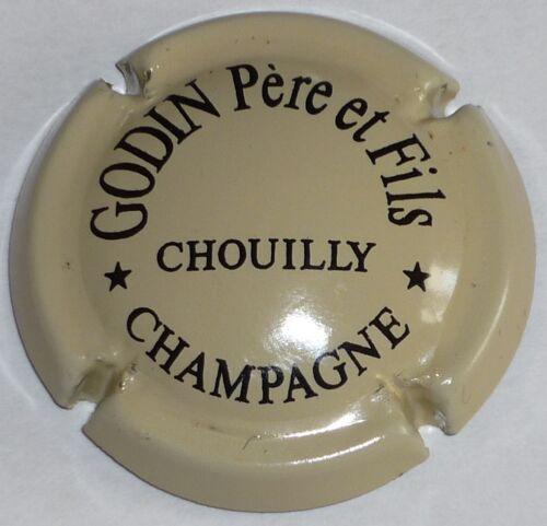 GODIN P et Fils crème Capsule de Champagne : Rare !! n°1