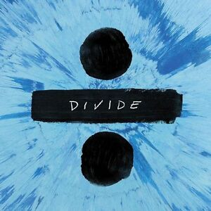 ED SHEERAN DIVIDE (÷) CD (Released On Friday March 3rd 2017) 190295859039