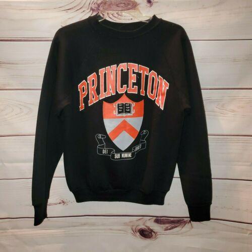 Vtg 80s Princeton Raglan Sweatshirt Adult Medium