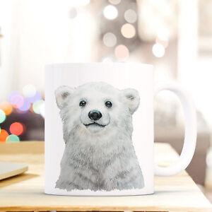 Ernährung Tasse Becher Eisbär Polarbär Geschenk Kaffeetasse Eisbärtasse Kaffeebecher Ts748 Fein Verarbeitet