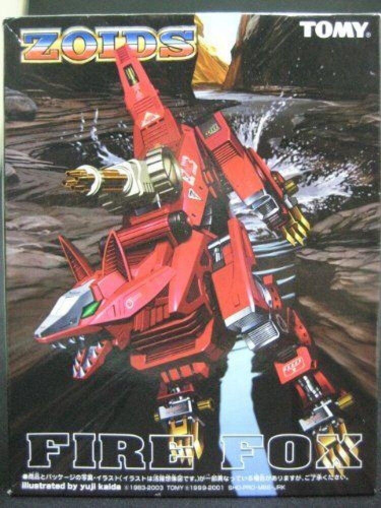Zoids delirio Senki fuego Fox F S