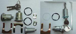 Lock Set Camaro 67 1967 Original Style Keys Door Ignition Trunk Glove Box