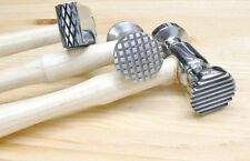 Texturing Hammer Texture Finish on Metal Hammers 3 pcs Jewelry Design 6 Patterns