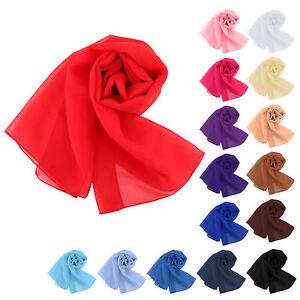 Fashion-Women-Long-Chiffon-Scarves-Scarf-Neck-Warm-Wrap-Shawl-160-50CM-Gift
