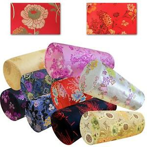Bolster Cover*Chinese Rayon Brocade Neck Roll Long Tube Yoga Pillow Case*BL02