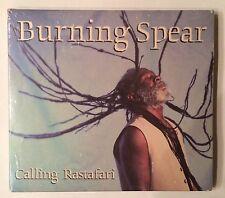 Burning Spear 'Calling Rastafari' Heartbeat (1999) Roots Reggae - NEW Sealed