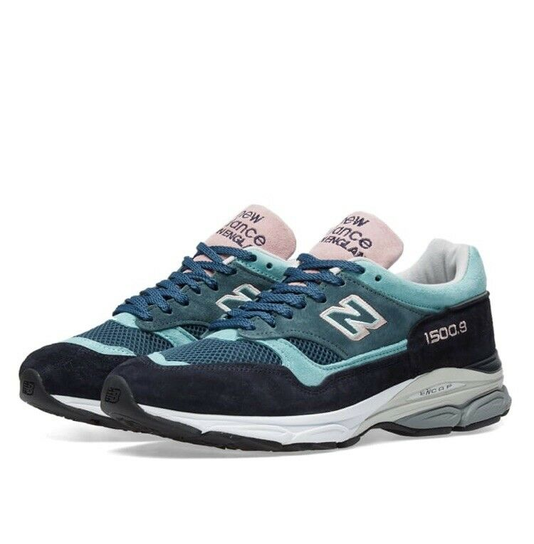 New Balance 15009 Teal Solway Rosa Navy DS Sz. 10 1300 UK  997 577 NB