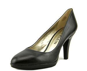 Black 19842257190 Leather Womens 5 M Anne Klein Lolana Pump fxqpHTw
