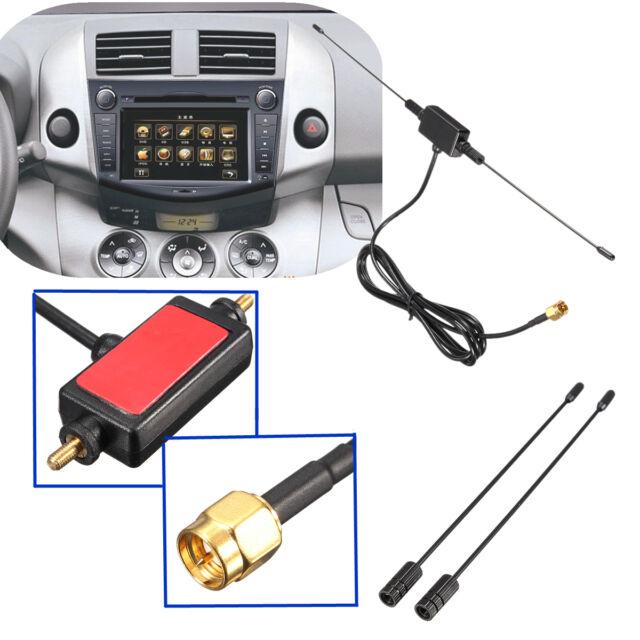 5ft In Car Radio Digital TV Antenna with Amplifier DVB-T ISDB-T 433MHZ Signal