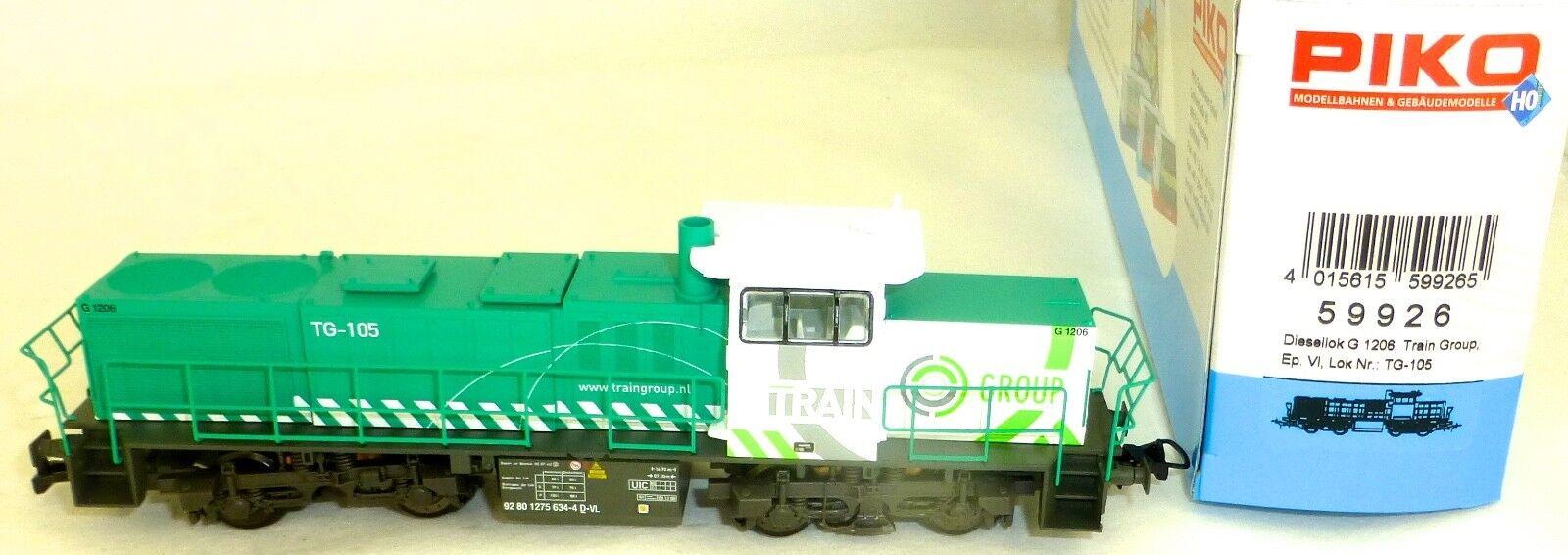 G 1206 Train Group tg-105 DIESEL epvi PIKO 59926 h0 1:87 OVP hh4 µ *