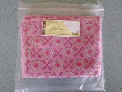 Longaberger Medium Market Basket Liner Horizon of Hope Pink Passion Fabric Liner