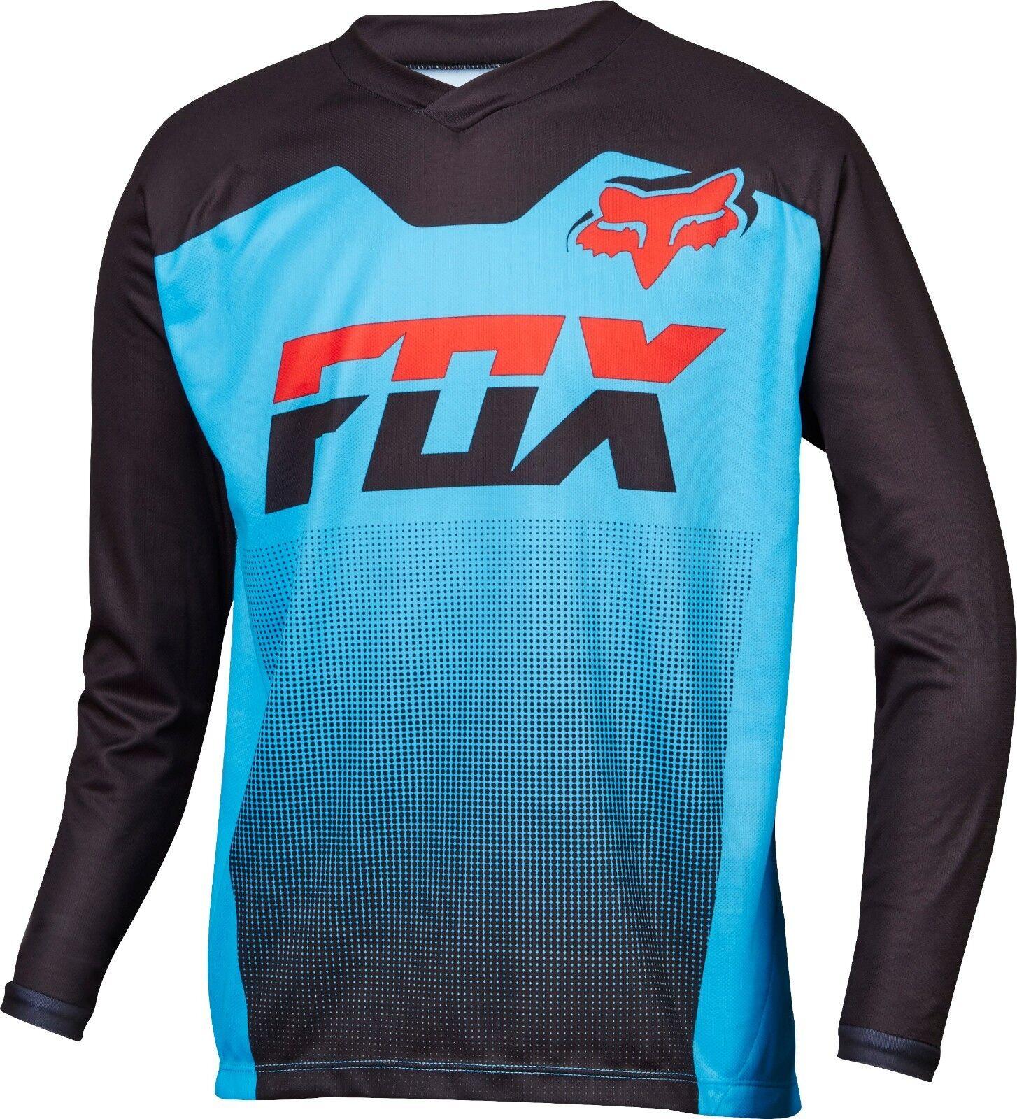 Fox Racing Youth Ranger Long Sleeve LS Jersey Cyan
