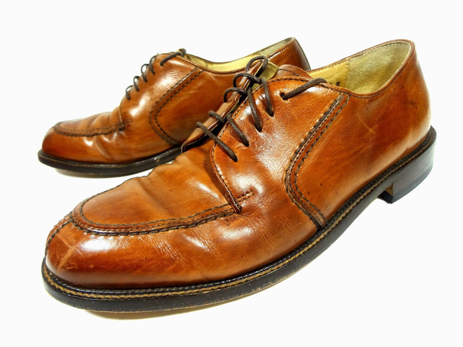 Pronto men Mens Oxfords Brown Leather shoes 7.5 M