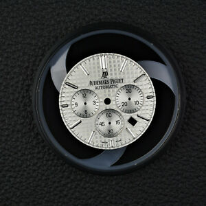 AUDEMARS-PIGUET-Royal-Oak-Chrono-Zifferblatt-Dial-silver-41mm-26320ST-OO-1220ST