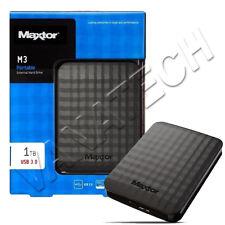 """HARD DISK ESTERNO MAXTOR 1TB USB 3.0 / 2.0 2,5"""" STSHX-M101TCB NERO"""