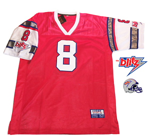 pretty nice 3fd3a a9247 Details about 1984 Chicago Blitz USFL Jersey Customized