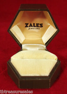 vintage 1971 hexagon ridged zales jewelers ring jewelry