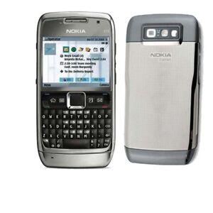 Gray-Original-Nokia-E71-Unlocked-QWERTY-Keypad-Wifi-3G-3-15MP-MP3-Mobile-Phone