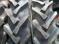 (2) 11.2x28 Ford John Deere Tractor Tires W/tubes & (2) 600x16 3 Rib W/tubes