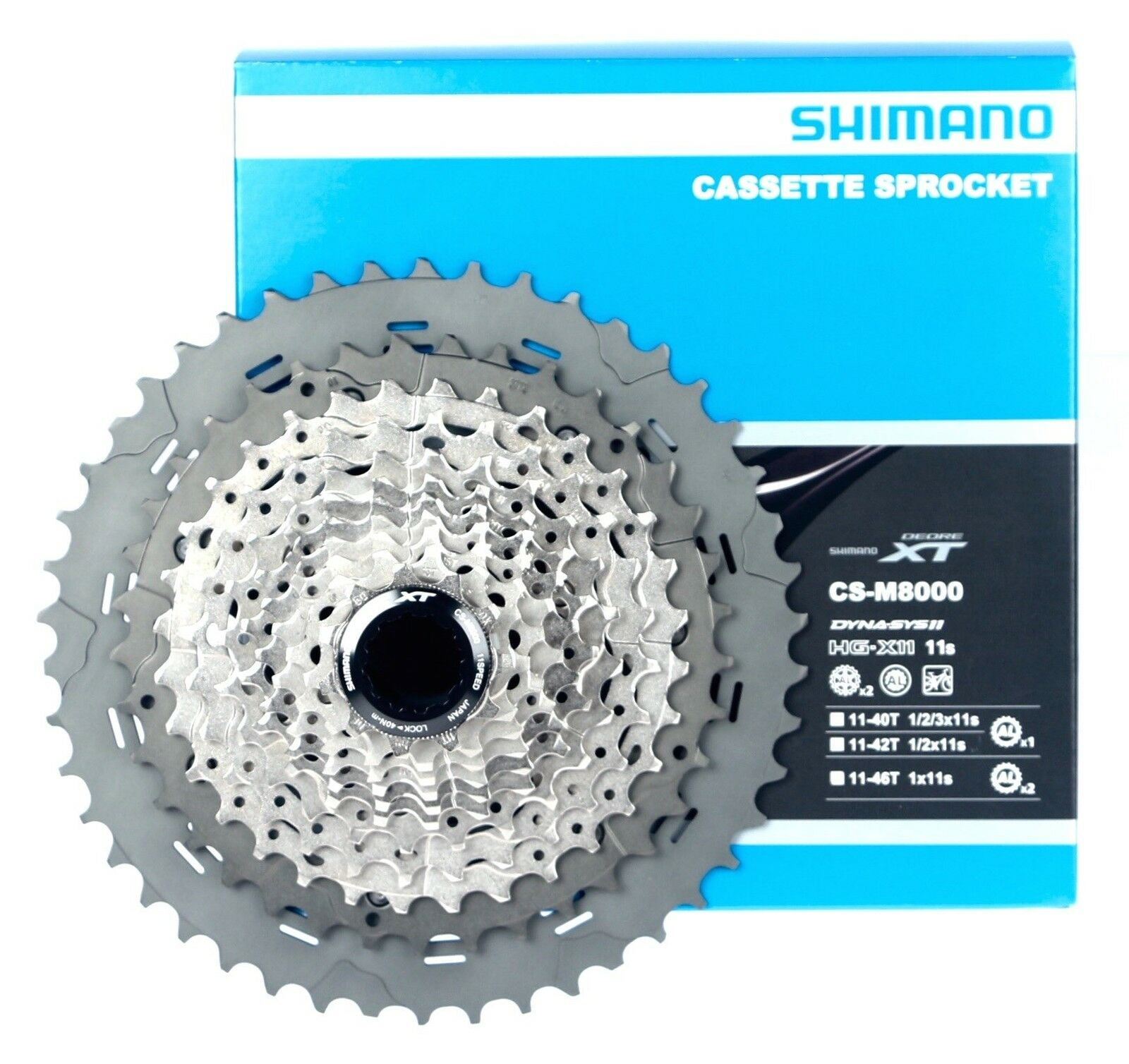 Shimano XT M8000  11Speed 11 46T MTB Mountain XC FR DH Cassette NIB  lowest prices