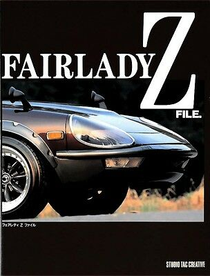 NISSAN FAIRLADY III Hard cover BOOK THE ZX SENSATION S130