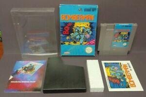 BOMBERMAN-NES-Nintendo-Game-Original-BOX-Complete-CIB-Instructions-Manual