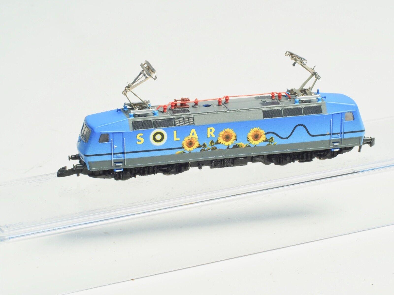 Marklin Z-Scale   Solare   Elettrico Locomotiva Classe 120 con 5 Asta Motore