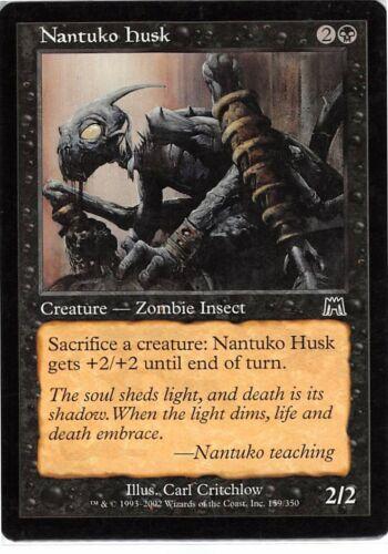 Nantuko Husk *PLAYSET* Magic MtG x4 Onslaught SP