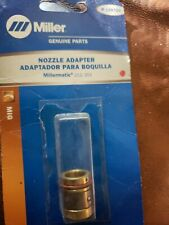 Miller Genuine Nozzle Adapter For Millermatic 212 252 Qty 1 169729 Open Pack