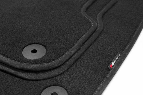 2011 Luxury-line Auto Fussmatten für Mercedes M-Klasse GLE W166 ab Bj
