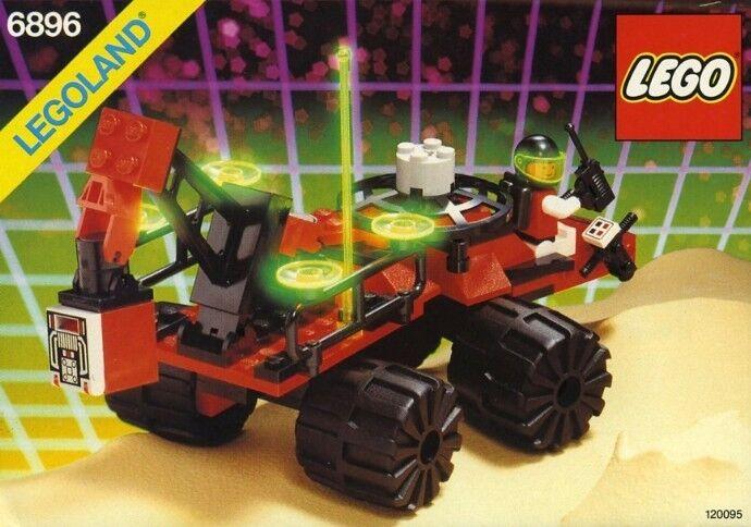 Nuevas Lego Astronauta Clásico 6896 Celestial Forager Legoland Precintado M