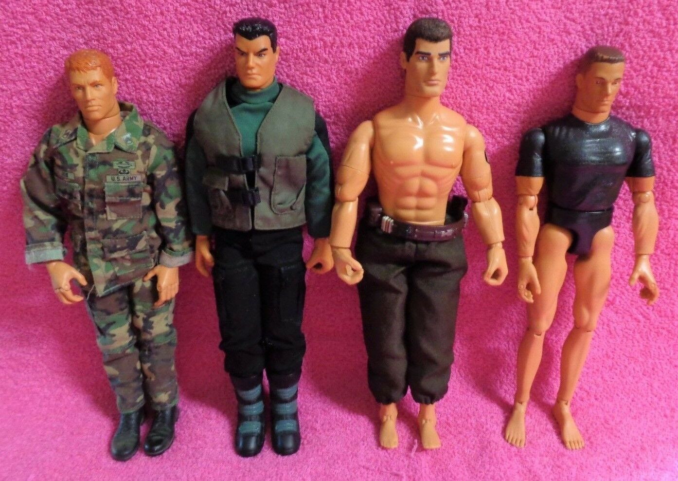 Hasbro GI Joe Lanard Toys Army Soldier 12
