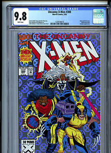 Uncanny X-Men #300 (1993) Marvel CGC 9.8 White Pages Holo-Grafx Foil Cover