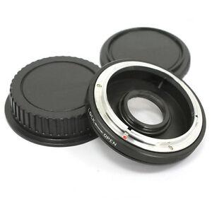 Canon-FD-FL-Objectif-pour-EOS-EF-Camera-Support-Adaptateur-anneau-infini-FOCUS