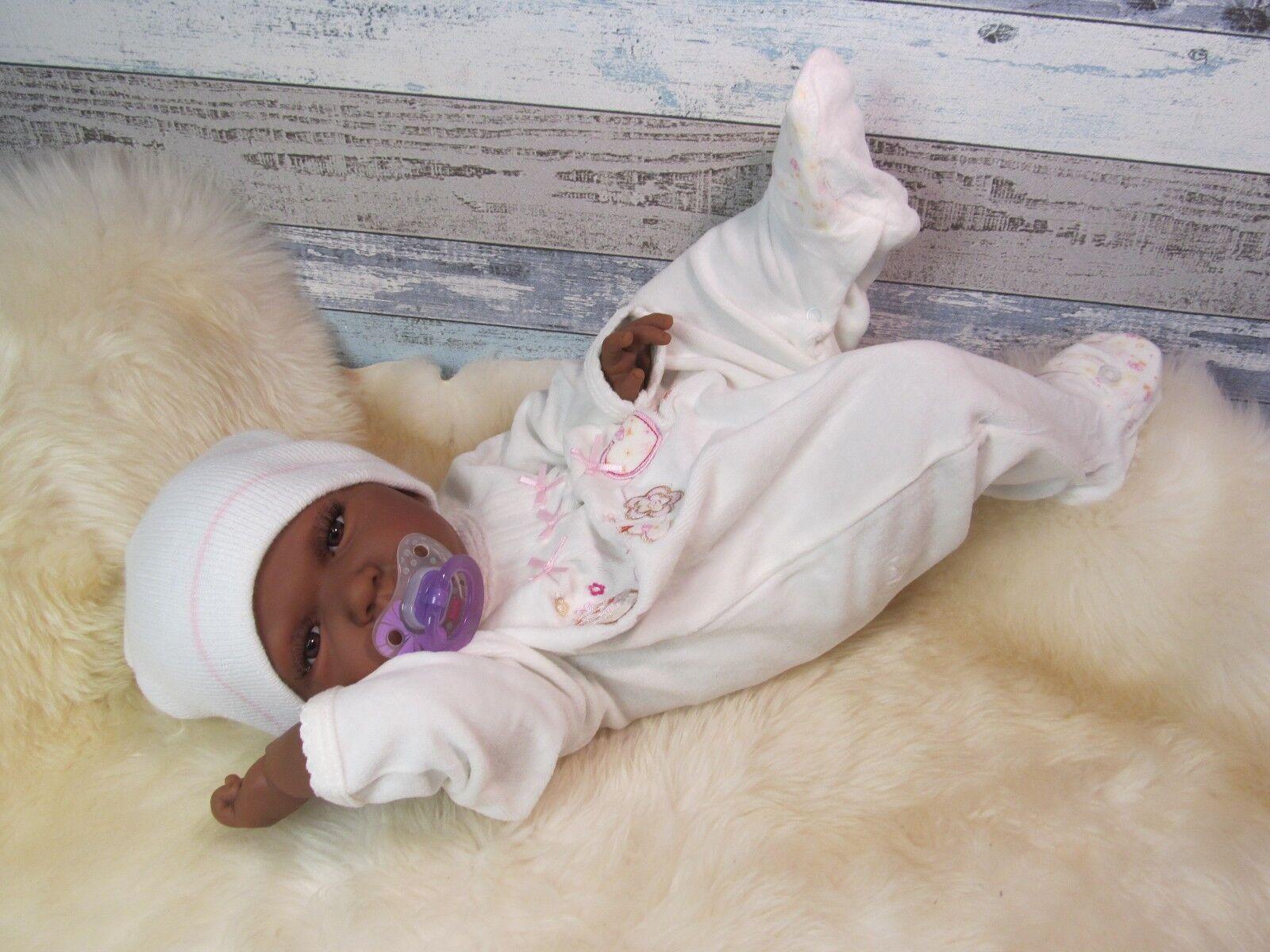 Ninisingen rebornbaby Reborn Naila ragazza BABY BAMBOLA BABY VINILE pieno