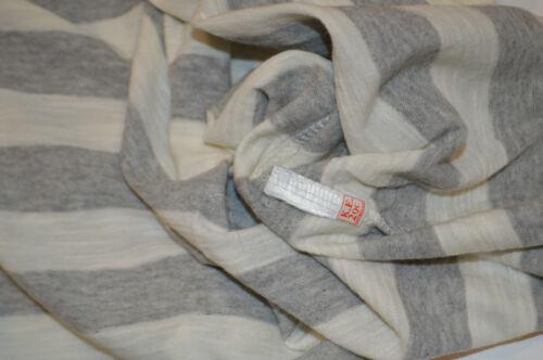 NEW GREY /& WHITE STRIPE Papaya Ladies Stripe Top// T Shirt SIZES12,14 /& 18