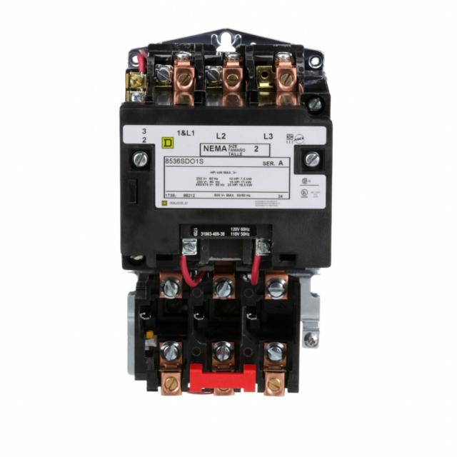 Square D 8536sdo1 Magnetic Motor Starter Nema Size 2 Phase