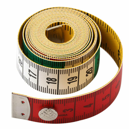 1.5m//60inch Flat Measuring Ruler Soft Tape Tailor Cloth Sewing Tool Flowery Myst