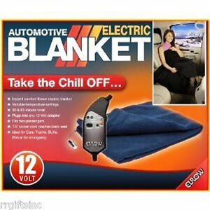 Image Is Loading Blanket Heated Travel Home Auto Boat
