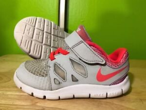 a4dc00198497 Image is loading Baby-NIKE-Free-5-0-Shoes-Size-7C-